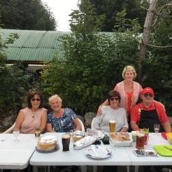 Sheila Broderick, Helen Callahan, Mary Ruff, Catherine Powell Berz, Peter Powell Berz